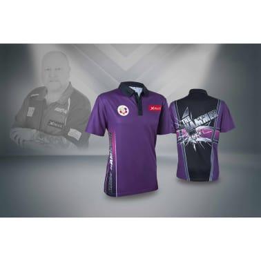 XQmax Darts Réplica de camiseta Andy Hamilton morada S QD9200320[4/6]
