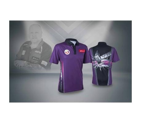 XQmax Darts T-shirt Andy Hamilton Violet Taille L QD9200340[4/6]