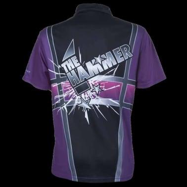 XQmax Darts T-shirt Andy Hamilton Violet Taille L QD9200340[3/6]
