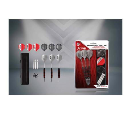 XQmax Darts Jeu de fléchettes caoutchoutées 27 pcs 23 g QD7000660[2/4]