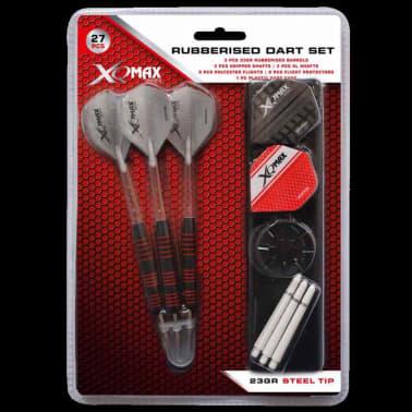 XQmax Darts Jeu de fléchettes caoutchoutées 27 pcs 23 g QD7000660[4/4]