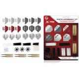 XQmax Darts Kit Accessori Freccette 90 pz 23 g con Punta Acciaio QD7000700