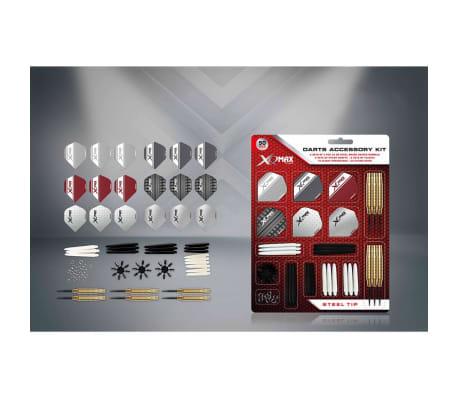 XQmax Darts Kit d'accessoires fléchettes 90 pcs Pointe acier 23g QD7000700[2/4]
