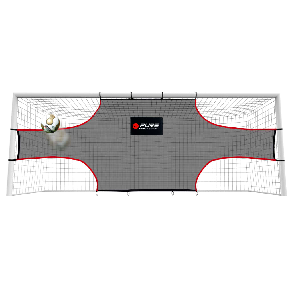 Pure2Improve Poartă de exersare fotbal, 732 x 244 x 244 cm, PE poza 2021 Pure2Improve