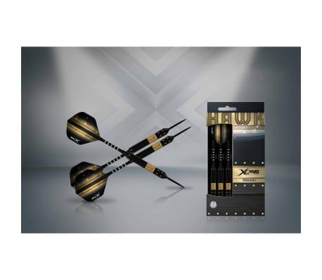XQmax Darts Set de dardos Hawk 3 piezas 23g latón acero QD1103140[2/3]