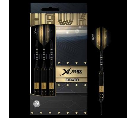 XQmax Darts Set de dardos Hawk 3 piezas 23g latón acero QD1103140[3/3]
