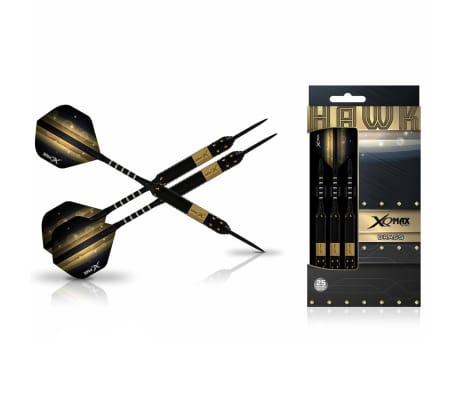 XQmax Darts Jeu de fléchettes Hawk 3 pcs 25 g Laiton Acier QD1103150[1/3]