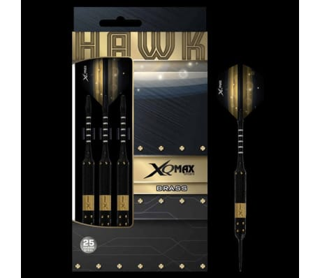 XQmax Darts Jeu de fléchettes Hawk 3 pcs 25 g Laiton Acier QD1103150[3/3]