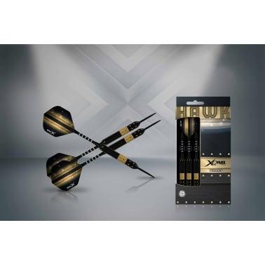 XQmax Darts Jeu de fléchettes Hawk 3 pcs 25 g Laiton Acier QD1103150[2/3]