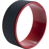 Pure2Improve Roue de yoga 30 cm Noir et rouge