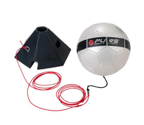 Pure2Improve Fotboll med snöre för teknikträning