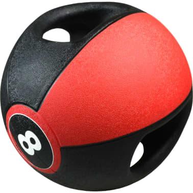 Pure2Improve Medisinball med håndtak 8 kg rød[1/5]
