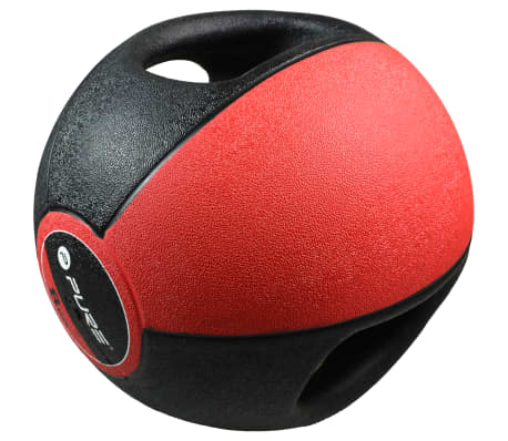 Pure2Improve Medisinball med håndtak 8 kg rød[2/5]