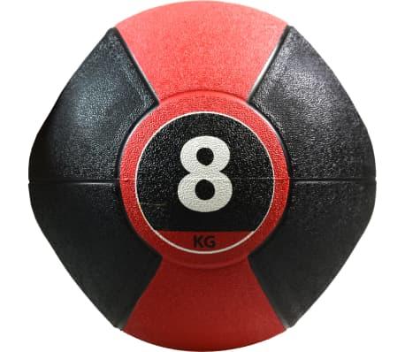 Pure2Improve Medisinball med håndtak 8 kg rød[3/5]
