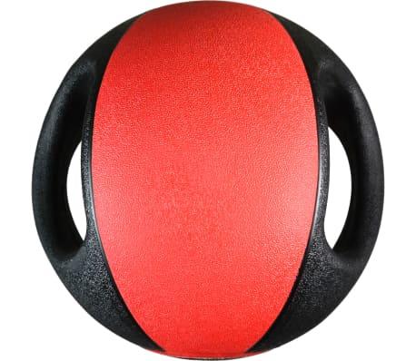 Pure2Improve Medisinball med håndtak 8 kg rød[5/5]