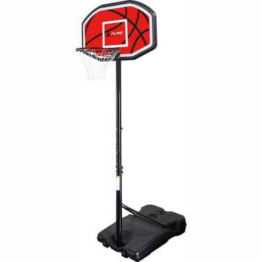 Pure2Improve Panier de basket sur pied portable 110 x 71 cm[1/2]