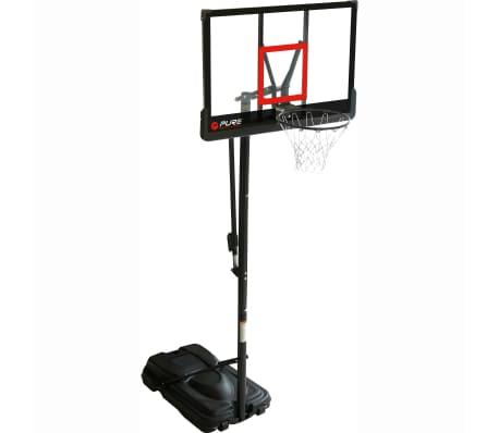 Pure2Improve Panier de basket sur pied portable Deluxe 110 x 76 cm[2/2]