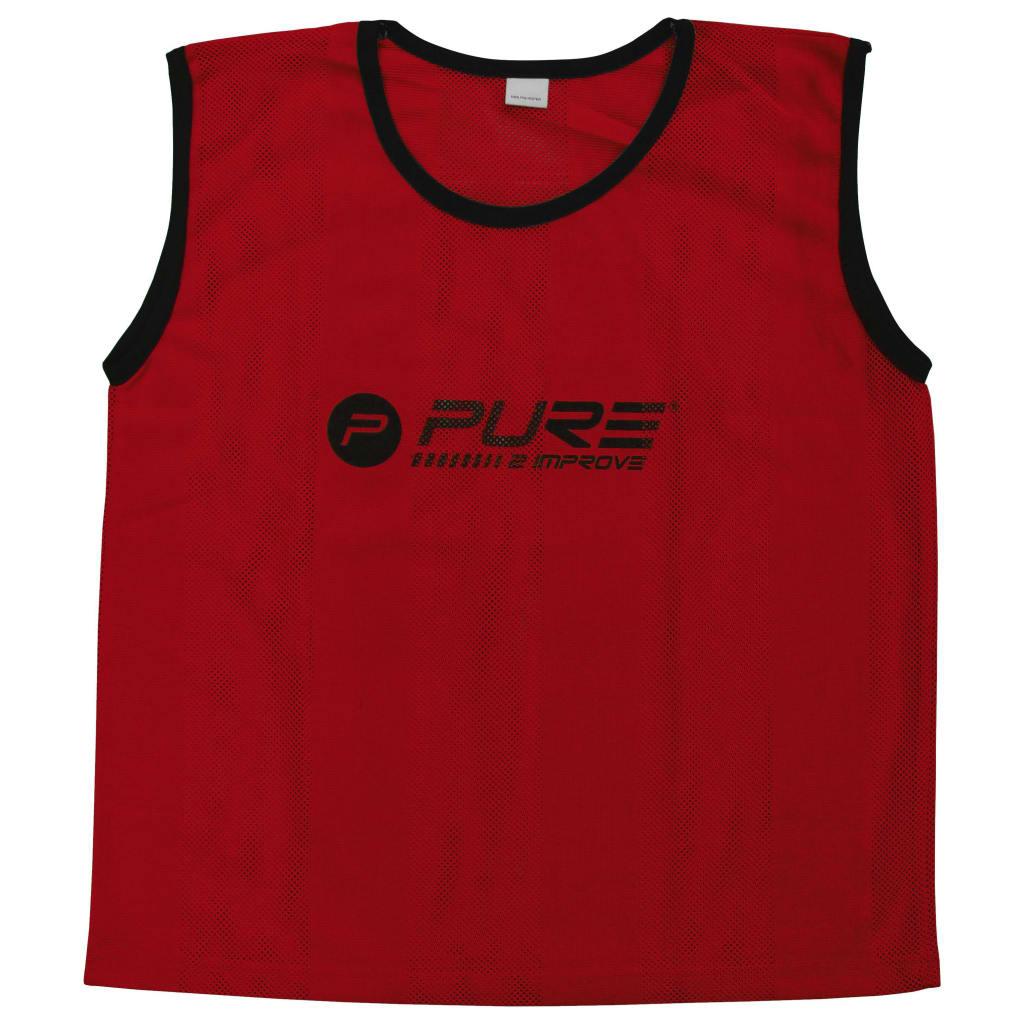 Pure2Improve Training-Trikots 4 Stk. Junior Rot