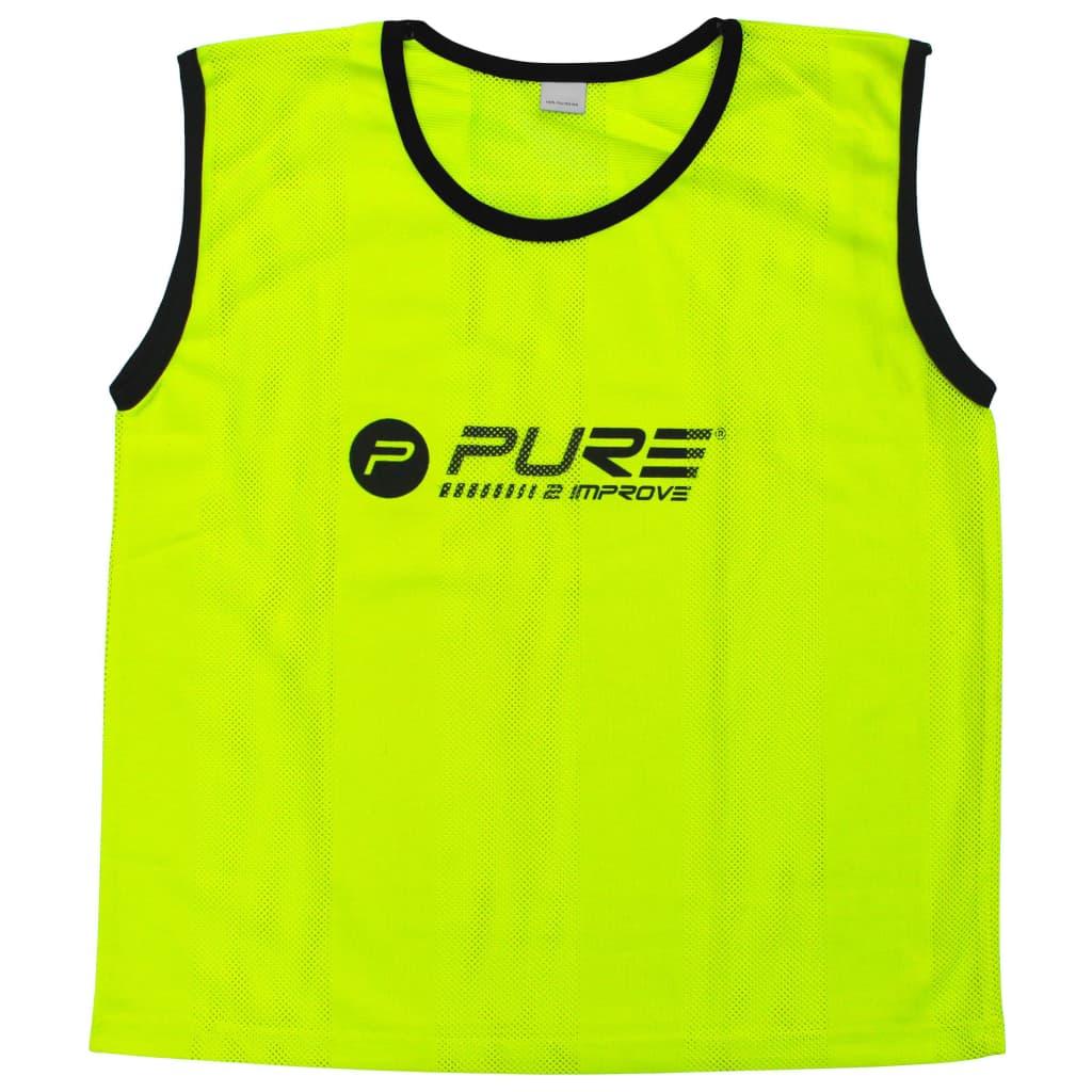 Pure2Improve Training-Trikots 4 Stk. Junior Gelb