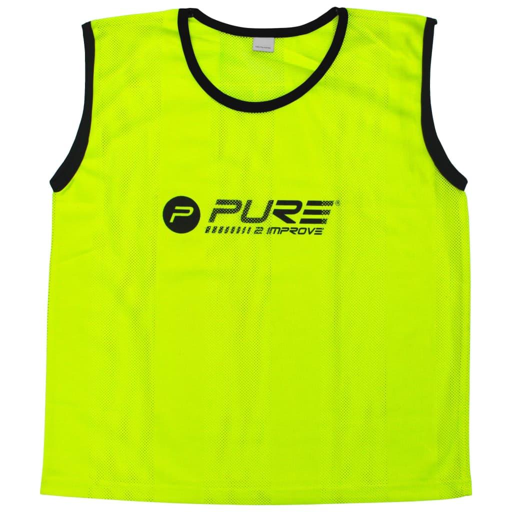 Pure2Improve Training-Trikots 4 Stk. Senior Gelb