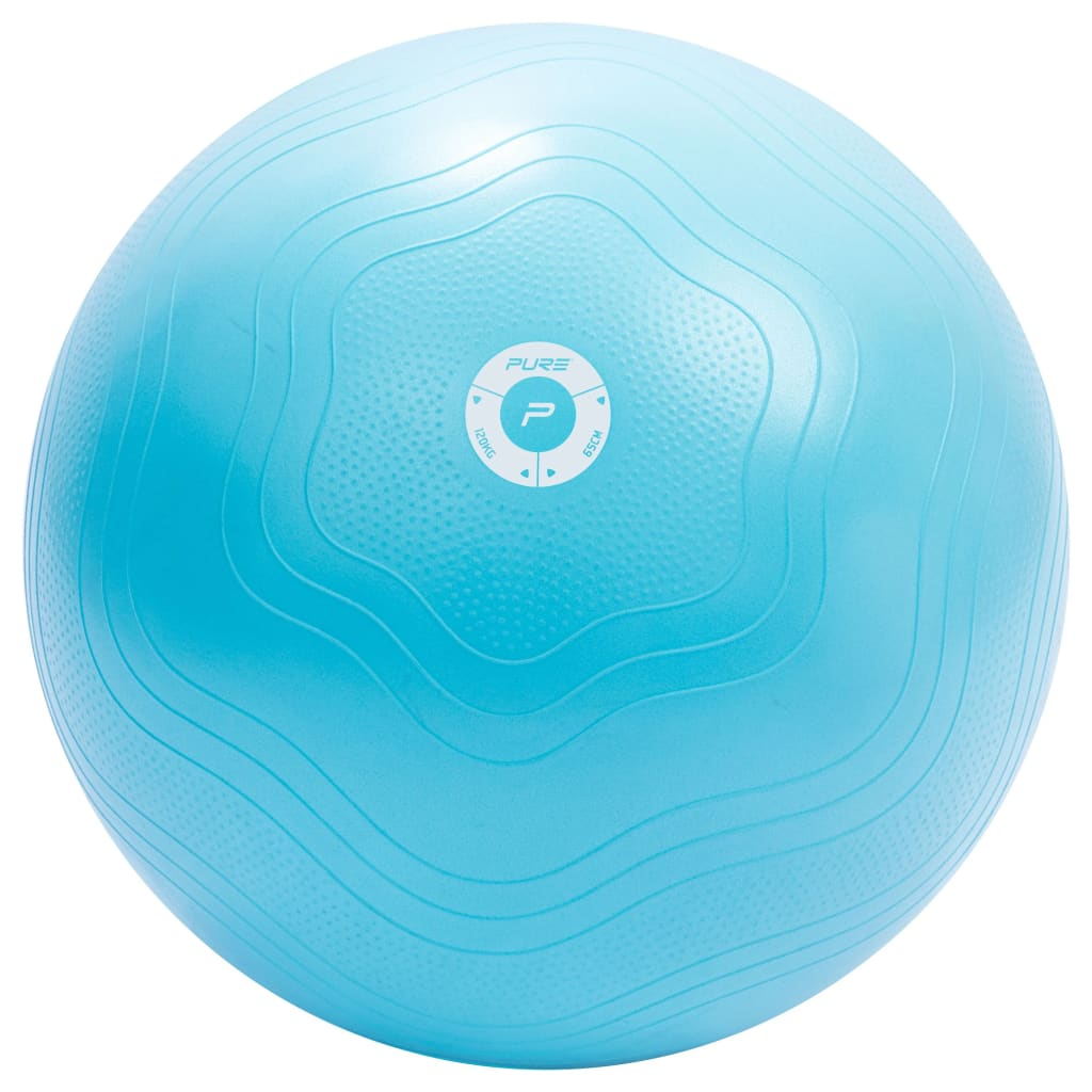Pure2Improve Gymnastikball 65 cm Hellblau