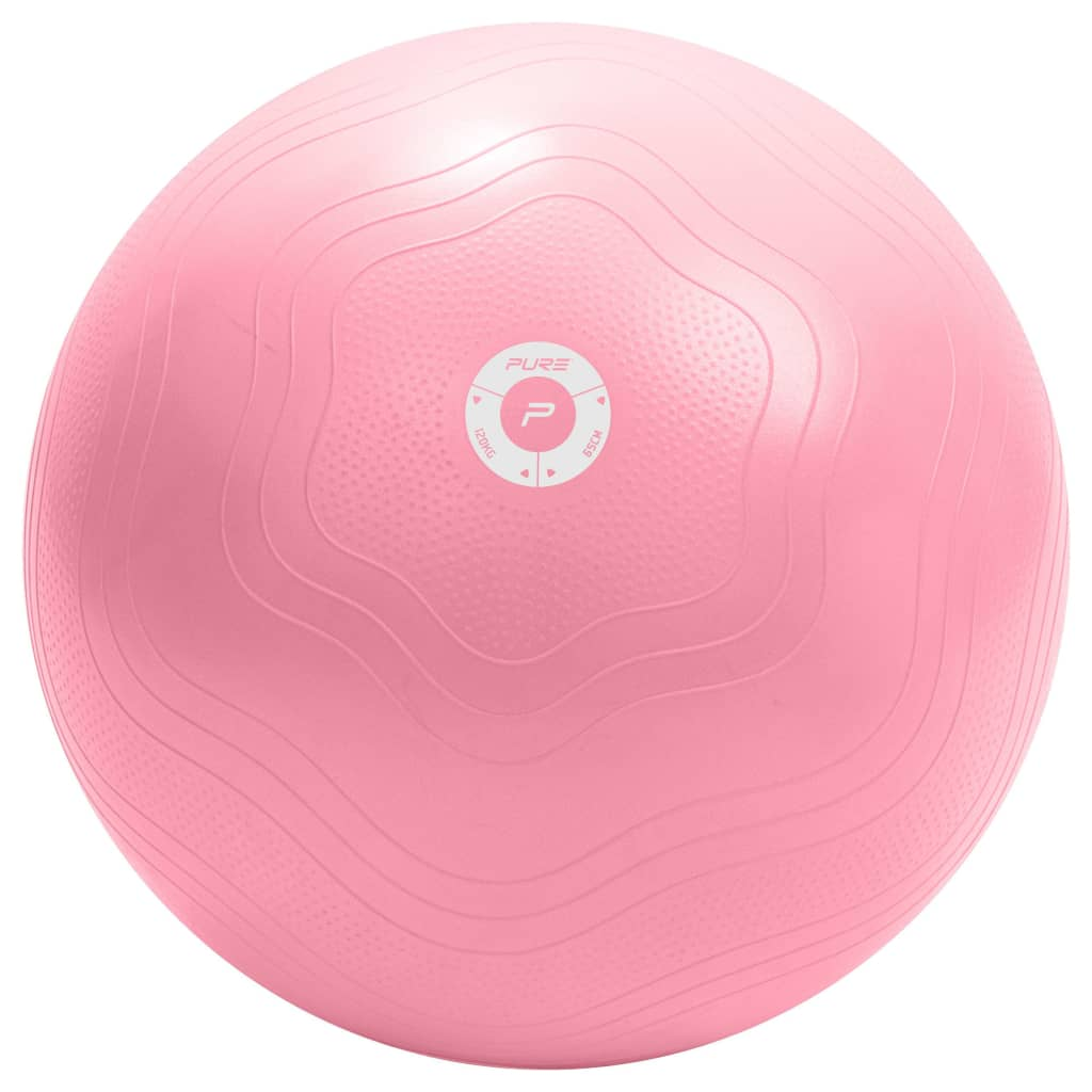 Pure2Improve Gymnastikball 65 cm Rosa