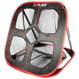 Pure2Improve pop-up-træningsnet til golf 82 x 80 x 88 cm sort og rød