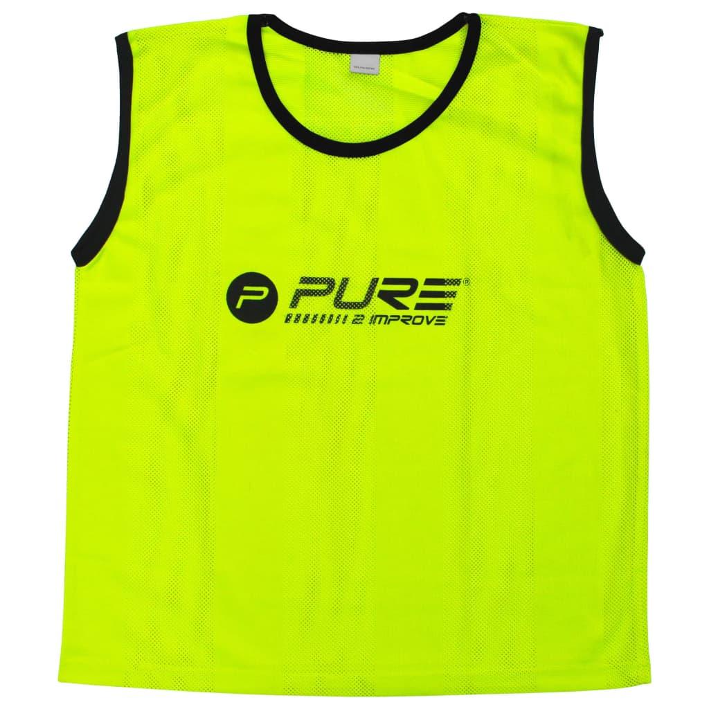 Pure2Improve Training-Trikots 4 Stk. Mini Gelb