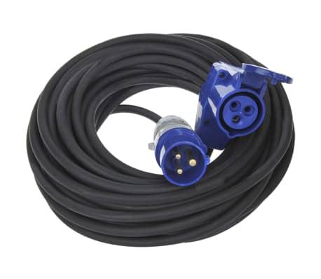 2 m Brennenstuhl 1168980020 Cordon prolongateur de qualit/é avec onglets en Plastique Noir