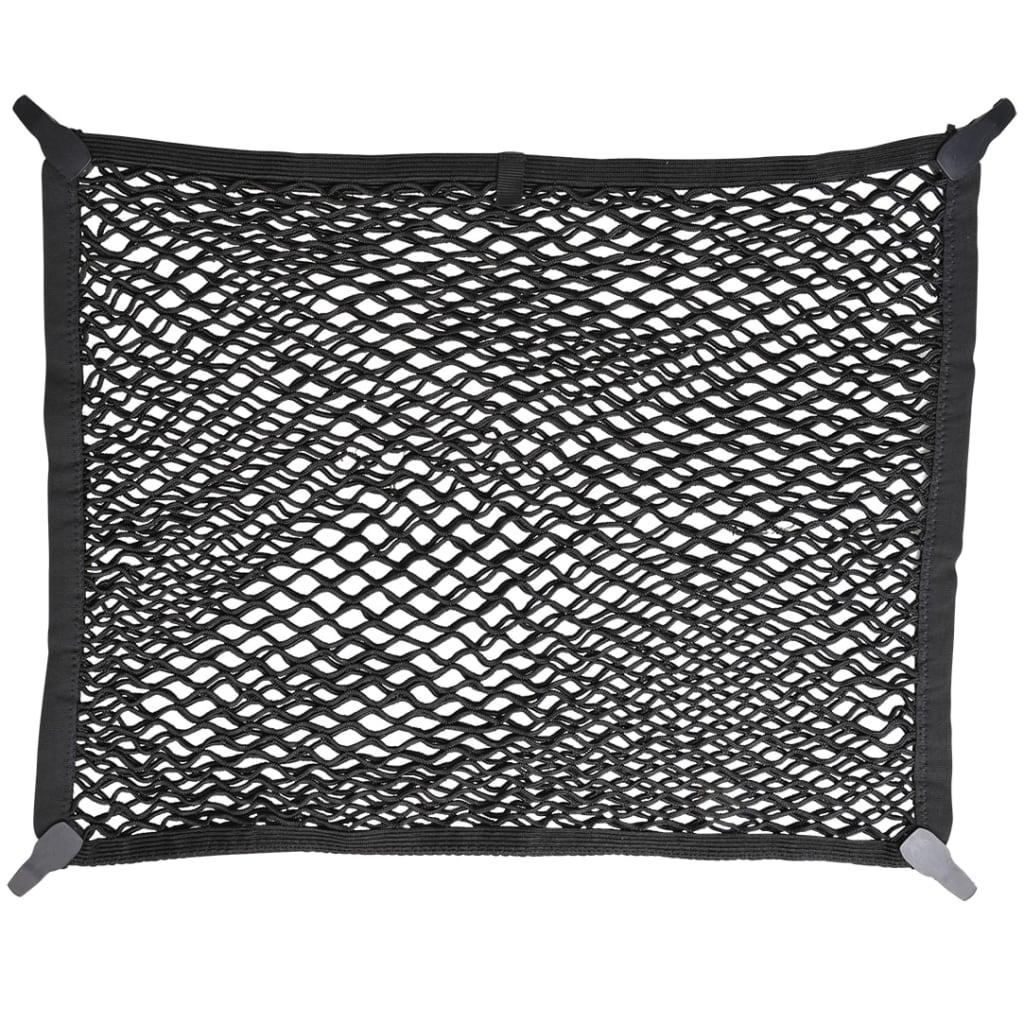 ProPlus bagagenet 80 x 60 cm dubbel met kunststofhaken