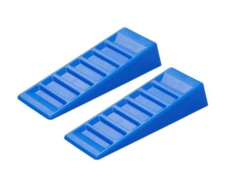 ProPlus Nivåklossar till husbil 2 delar 75mm plast blå