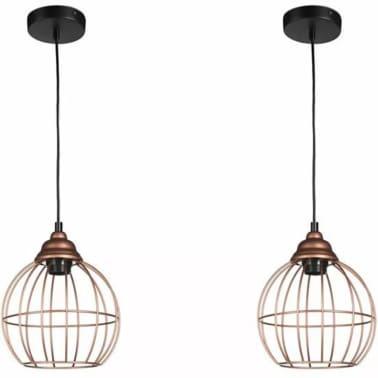 AA Commerce Industriële Draad Hanglamp - Draadlamp Set - Eetkamer ...