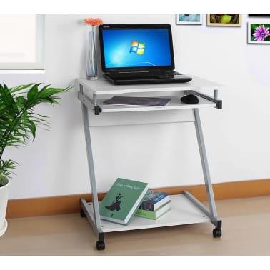 Computertafel Bureau Op Wielen - Verrijdbaar Computerbureau[5/5]