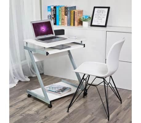 Computertafel Bureau Op Wielen - Verrijdbaar Computerbureau[1/5]
