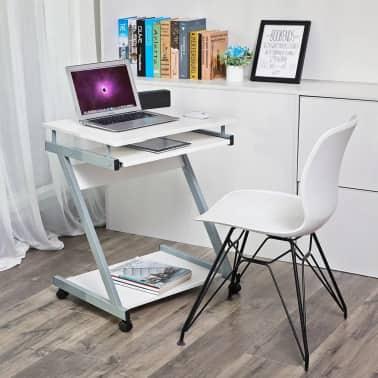 Computertafel Bureau Op Wielen Verrijdbaar Computerbureau