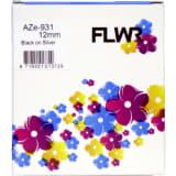 FLWR Brother TZe-931 zwart Labels