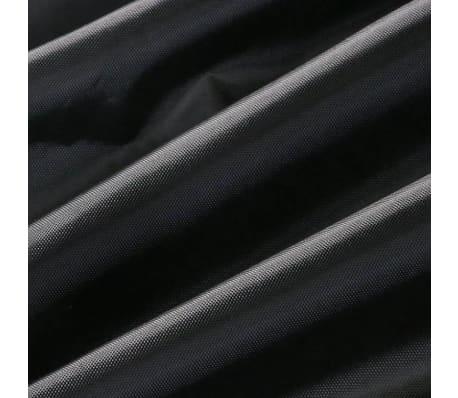 Beschermhoes Tuinmeubelen Zwart Loungeset 123x123x74 ( l x b x h )[5/6]