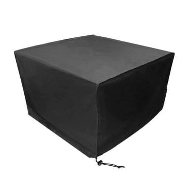 Beschermhoes Tuinmeubelen Zwart Loungeset 123x123x74 ( l x b x h )[4/6]