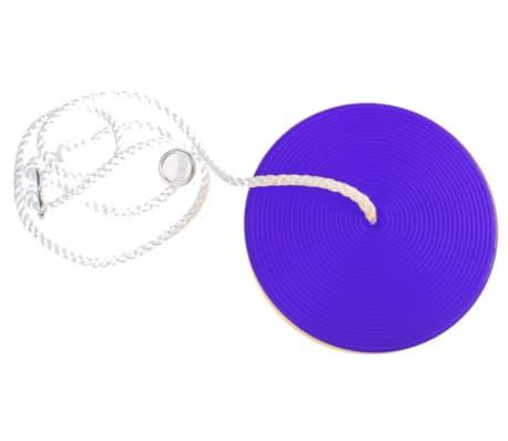 Tender Toys schotelschommel Disco Swing 28,5 cm blauw