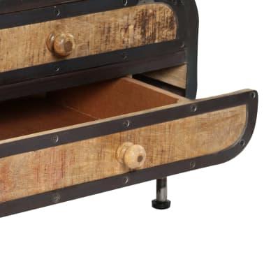 vidaXL Kavos staliukas, 100x50x35 cm, mango medienos masyvas[8/14]