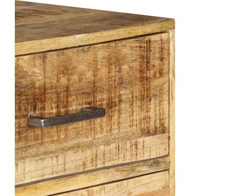 vidaXL Komoda su stalčiais, 45x35x106cm, mango medienos masyvas[5/13]