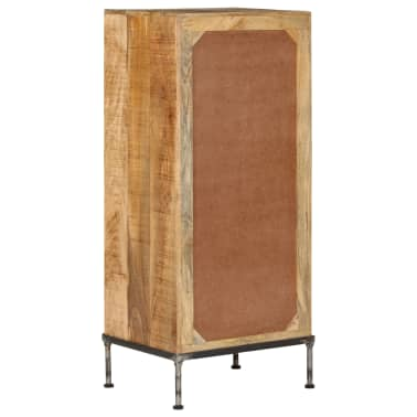 vidaXL Komoda su stalčiais, 45x35x106cm, mango medienos masyvas[3/13]