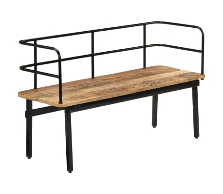 vidaXL Bench 120x40x70 cm Solid Mango Wood
