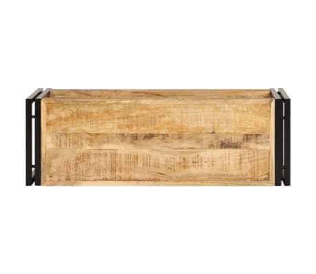 vidaXL TV omarica 90x30x40 cm trden mangov les[3/13]