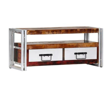 vidaXL TV stolek 90 x 30 x 40 cm masivní recyklované dřevo
