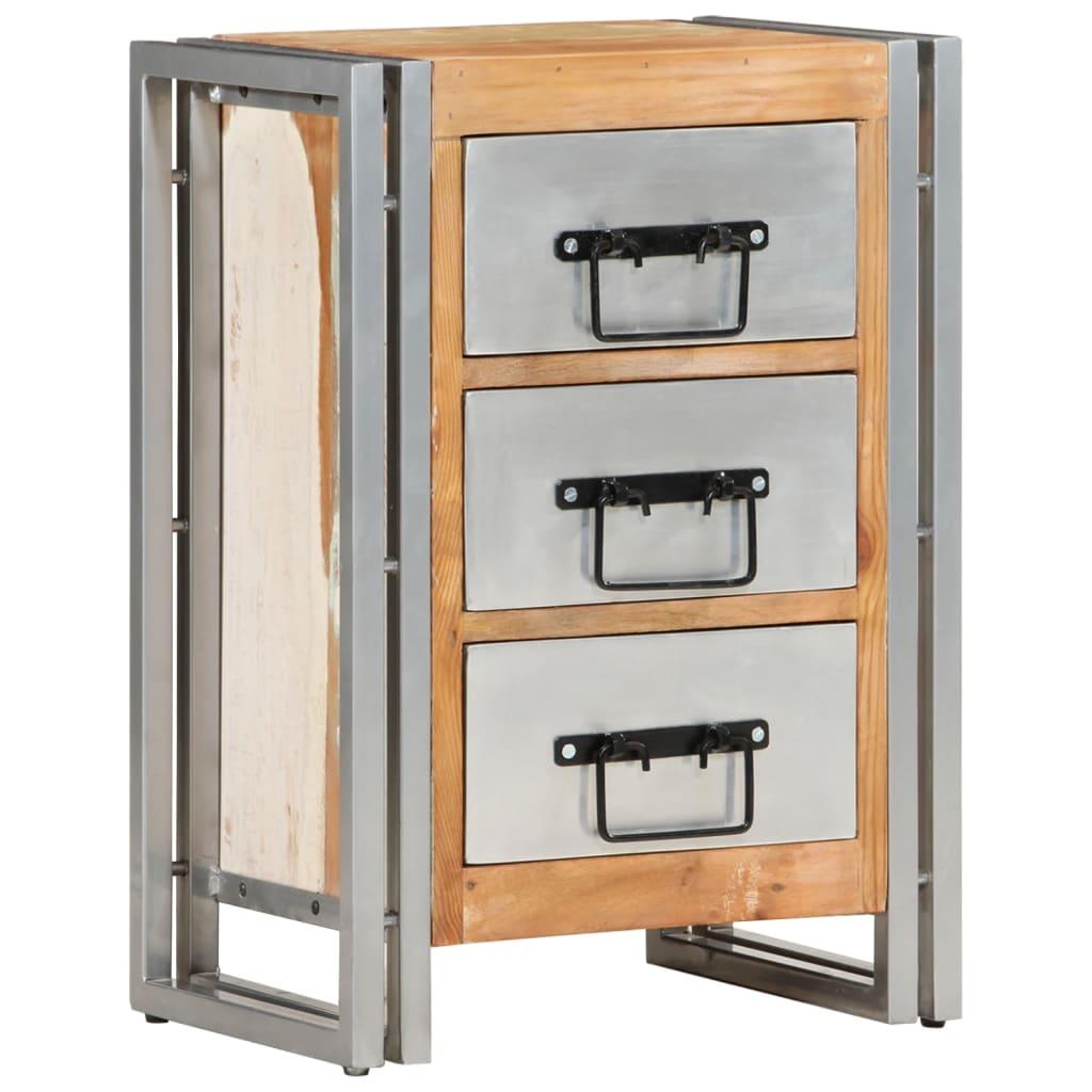 vidaXL Komoda se zásuvkami 40 x 30 x 60 cm masivní recyklované dřevo