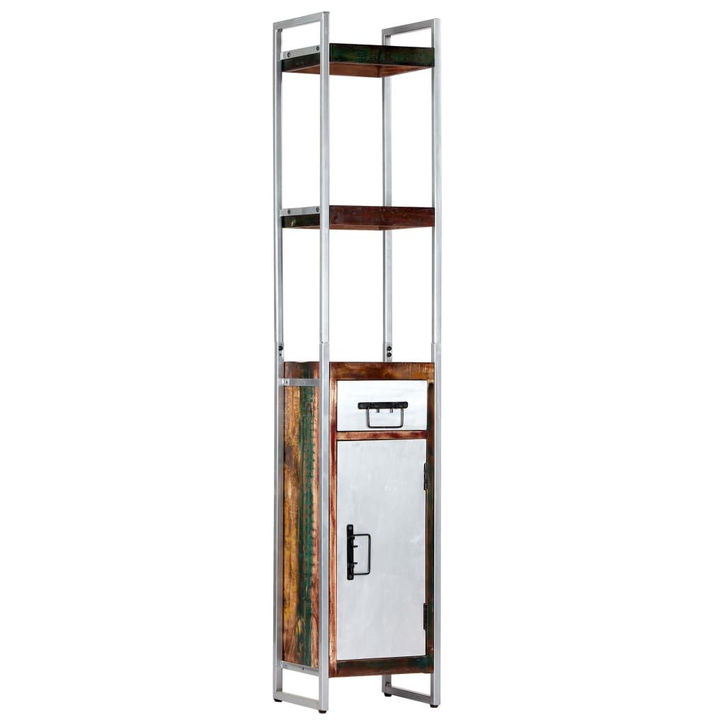 vidaXL Dulap înalt, 40 x 30 x 180 cm, lemn masiv reciclat poza vidaxl.ro