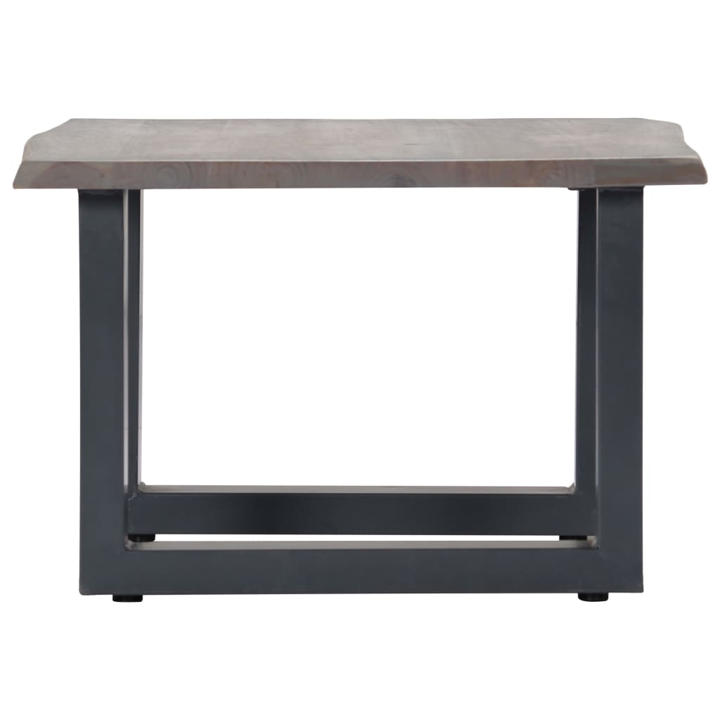 vidaXL Massivholz Couchtisch Beistelltisch Wohnzimmer Tisch Akazie 60x60x45cm