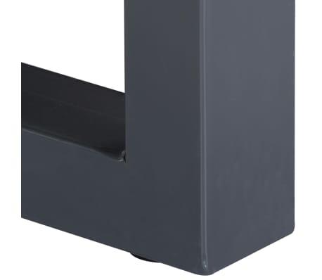 vidaXL Kavos stal., 60x60x40cm, pilk. sp., akac. med. mas. ir geležis[4/12]