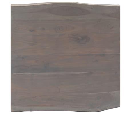 vidaXL Kavos stal., 60x60x40cm, pilk. sp., akac. med. mas. ir geležis[7/12]